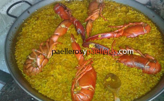 Paella de bogavante Rafa Senabre Reche