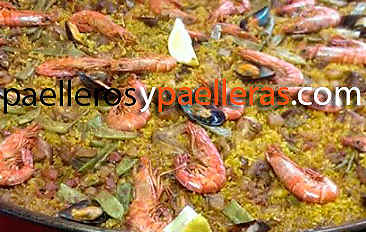Fotos paella mixta