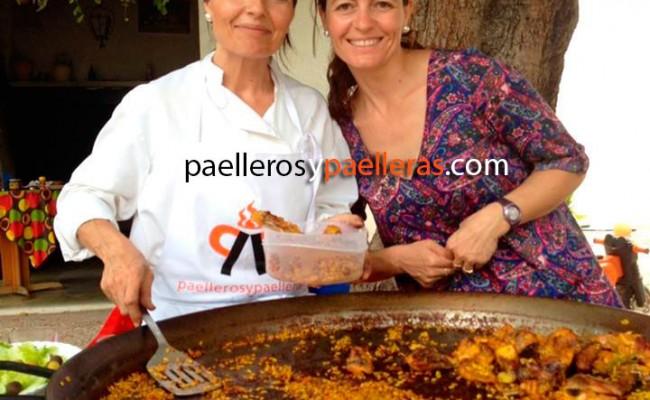 Cuinera de Paelles Pepi. La cocinera de Paelleros y Paelleras