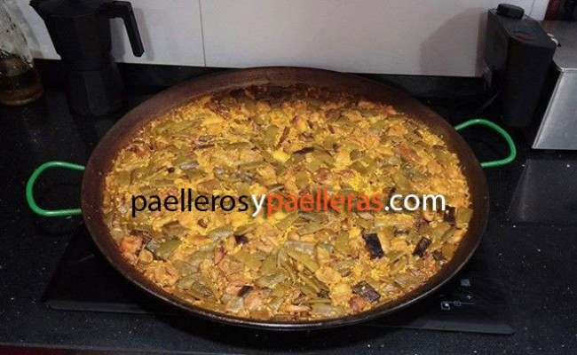 Paella Valenciana de Edu Pellejero