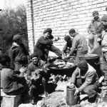 Paella Valenciana preparada por trabajadores