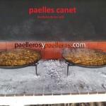 La auténtica paella valenciana a Leña