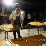Paellas en Italia para 60 personas