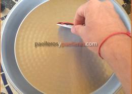 Antes de usar una paella
