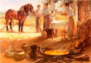 Conrado Meseguer el Pintor de la paella