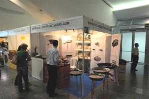 Stand de PaellerosyPaelleras.com en el I Congreso a la Arroz y Homenaje Mundial a la Paella