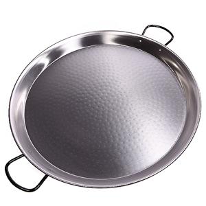 Paelleras pulidas de hierro para paellas